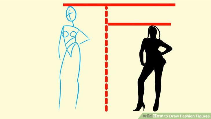 Image titled Draw Fashion Figures Step 1