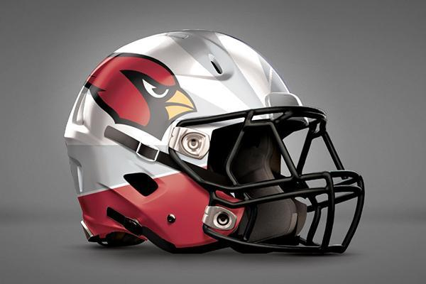 arizona cardinals helmet 3