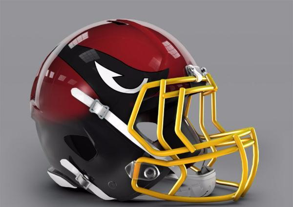 arizona cardinals helmet 2
