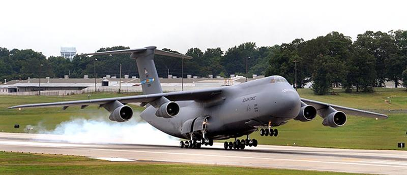 lockheed c-5 galaxy military history